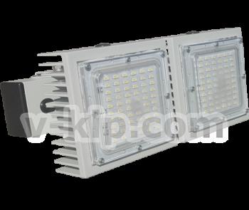 Двухмодульный LED светильник прожектор фото 1