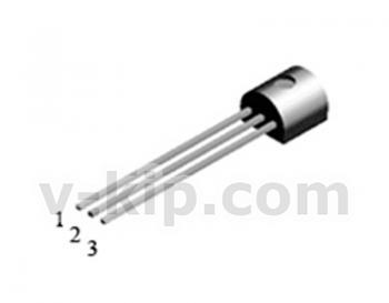 Транзистор p-канальный МОП  КП507А фото 1