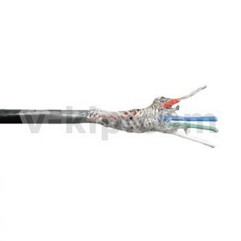 КММФЭ 4 х 0.2 кабель медный экранированный в оболочке из фторопласта фото 1