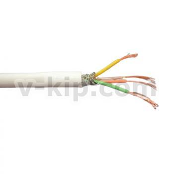 КММСЭ 4 х 0.2 кабель монтажный экранированный в силиконовой оболочке фото 1