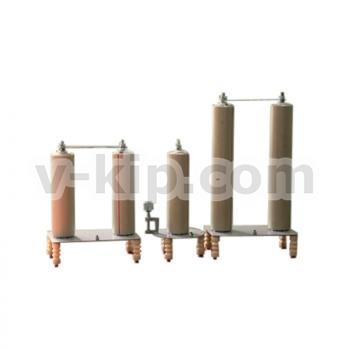 Фото комплекта поверочных конденсаторов КПК-10