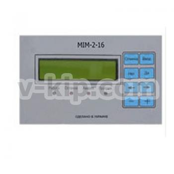 Панель индикации и управления MIM-2-16 - фото