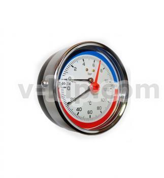 Термоманометры (осевые) МТ-80ТМ-О фото 1