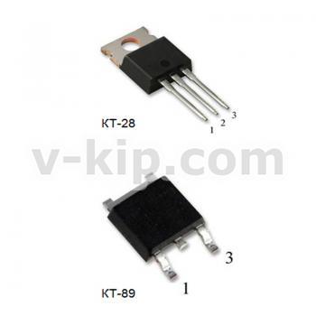Мощный вертикальный n-канальный МОП-транзистор КП743Б1 фото 1